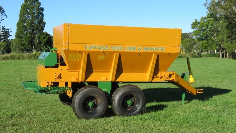 TUFFASS Machinery TUFFASS 5500 Lime & Gypsum Spreaders