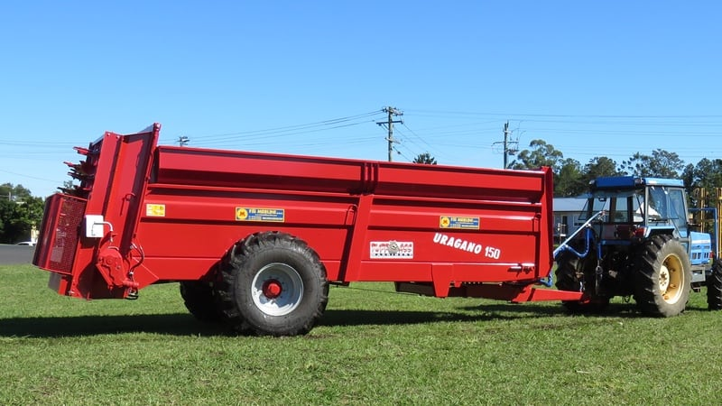 Compost & Mulch Spreaders